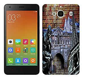 WOW 3D Printed Designer Mobile Case Back Cover For Xiaomi Redmi 2 / Redmi 2 Prime / Redmi 2S