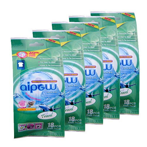 aipow-convenience-travel-portable-type-cleaning-laundry-powder-sheet-soda-detergent-travel-90-pieces