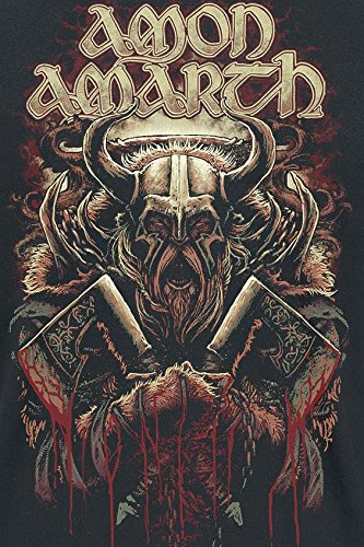 Amon Amarth Viking T-Shirt schwarz Schwarz