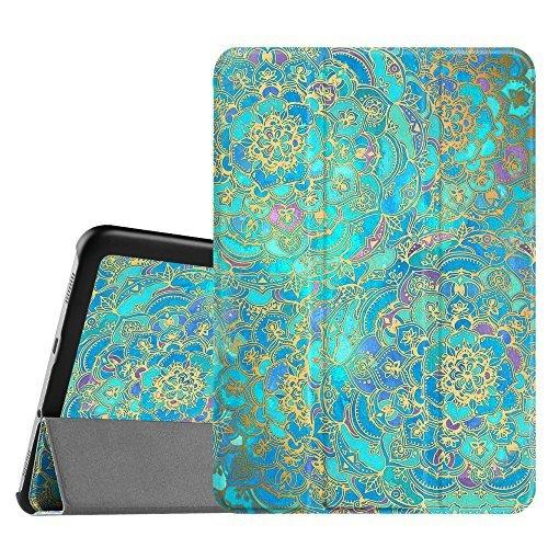 Fintie Hülle für Samsung Galaxy Tab S2 8.0 T710 / T715 / T719 (8 Zoll) Tablet-PC - Ultra Schlank Superleicht Ständer SlimShell Cover Schutzhülle mit Auto Schlaf/Wach Funktion, Jade