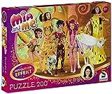 Schmidt Spiele 56068 - Mia and Me, Mia im Elfenpalast, 200 Teile Glitzerpuzzle