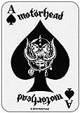 MOTÖRHEAD - Patch Aufnäher - Ace of spades card 10x8cm