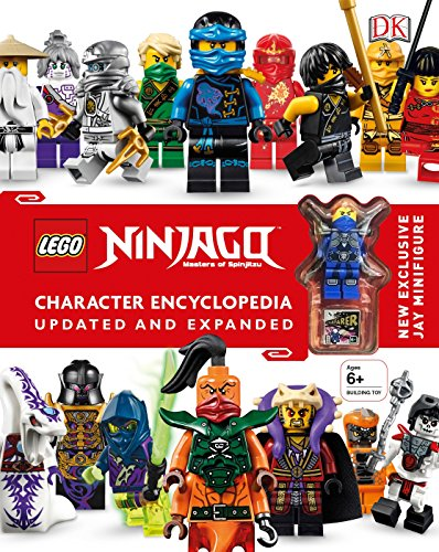 Lego Ninjago Character Encyclopedia, Updated Edition: New Exclusive Jay Minifigure por Dk