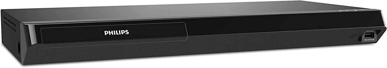 Philips BDP7502/F7 4K Ultra HD Wifi Blu-ray Player, Dolby Vision Ready