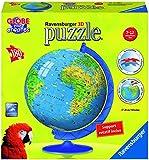 Ravensburger - 12330 - Puzzle 3D - Mappemonde Xxl - 180 Pièces