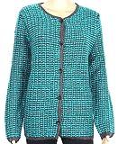 Barbara Lebek Jacke Strickjacke Cardigan Pullover blau türkis Frozenmint 2665 816 72 (46)