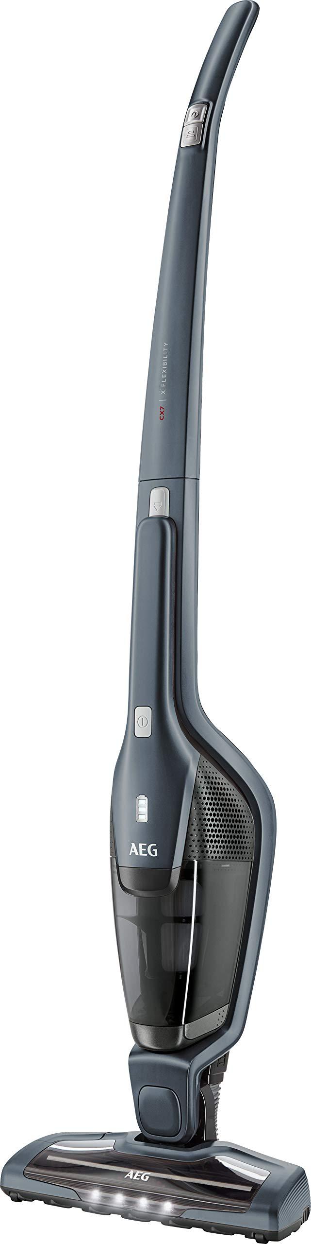 AEG Ergorapido CX7-2-35TM 2in1 Akku-Staubsauger / beutellos / bis zu 35 Min. Laufzeit / freistehend / 180° Drehgelenk…