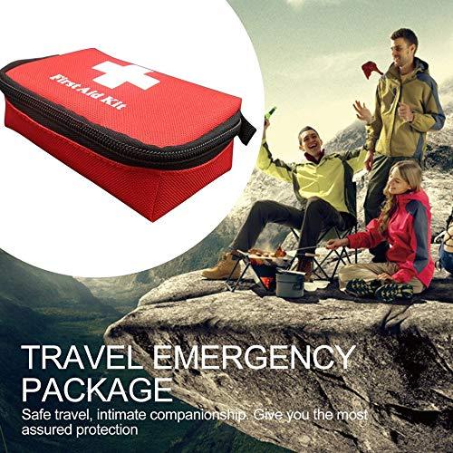 Borsa di sopravvivenza di emergenza da viaggio Mini kit di pronto soccorso portatile per la casa e l\'esterno
