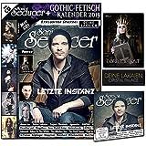 Sonic Seducer 09-14 inkl. großem Gothic-Fetisch Kalender 2015 + exkl. Sticker von Deine Lakaien + Poster von Lord Of The Lost + CD mit über 65 Minuten Spielzeit, Bands: Letzte Instanz u.v.m.
