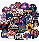 DZCYAN 50 Stranger Things Stickers Pack Anime  for Children On The Laptop Fridge Phone Skateboard Suitcase Funny Cool Sticker