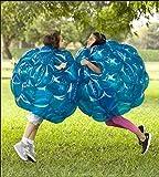 YaeKoo Paio 90mm Corpo Bubble Ball PVC Gonfiabile Bubble Ball Bumper Ball Umano Bubble Soccer Balls per Adulti Bambini Zorb indossabile da calcio umano Adatto per giocare all'aperto