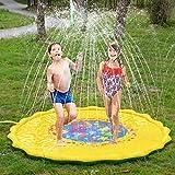 LVHERO Groß Splash Pad, 175 cm Durchmesser Sprinkler und Splash Spielmatte, Sommer Garten Wasserspielzeug für Baby, Kinder, Hund und Haustiere