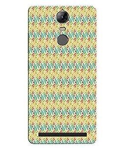 Citydreamz Abstract Floral Design Hard Polycarbonate Designer Back Case Cover For Lenovo K5 Note