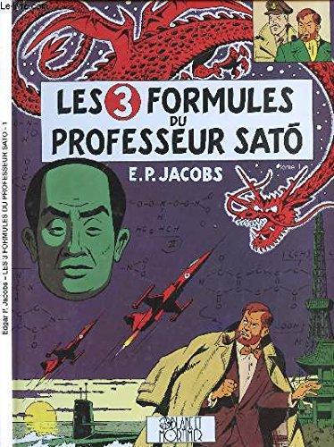 Blake et Mortimer , Les 3 Formules du Professeur SATO