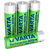 batterie rechargeable Varta Accu Ready2Use Mignon AA Ni-Mh (4-Pack, 2600 mAh)