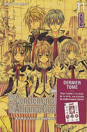 The Gentlemen's Alliance Cross Vol.11 par TANEMURA Arina