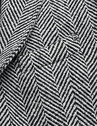 REPLAY, Giacca Uomo Mehrfarbig (BLACK/CHALK HERRIGBONE 10)