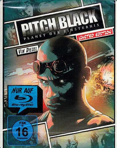 Pitch Black - Planet der Finsternis - Reel Heroes Limited Steelbook Edition [Blu-ray]