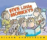 Five Little Monkeys Reading in Bed (Five Little Monkeys Story)