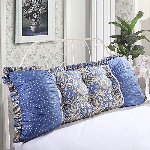 Liangjun cuscino cuscino della testiera pacchetto morbido pad vita 7 colori, 5 formati disponibili accessori per biancheria da letto (colore : 1#, dimensioni : 100x55cm)