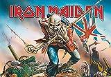 LPGI Iron Maiden Trooper Grande Tela Póster Bandera de/40x 30'