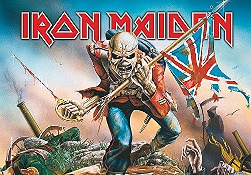 LPGI Iron Maiden Trooper Grande Tela Póster Bandera