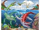 Haba 303377 - Puzzles Dinosaurier, Spiel