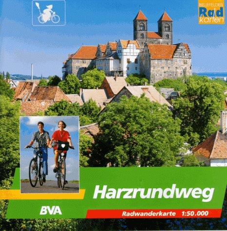 Harzrundweg 1 : 50 000. Radwanderkarte. Radwandern rund um den Harz. Karte und Radwanderführer