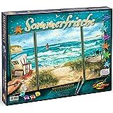 Schipper 609260595 - Malen nach Zahlen - Sommerfrische (Triptychon), 50x80 cm