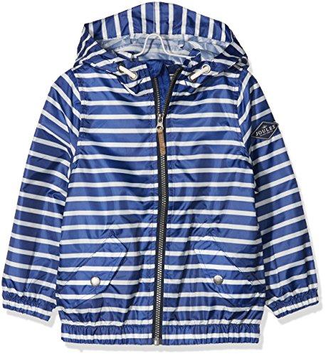 Tom Joule Jungen Regenjacke Rowan, Blau (Blue Stripe Blustrp), 122 (Herstellergröße: 7-8)