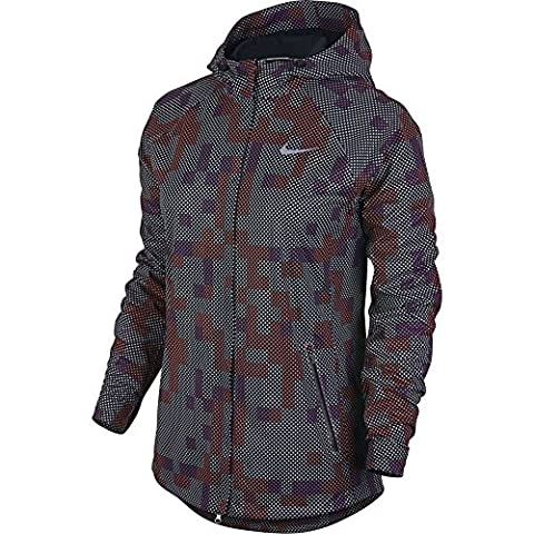 Nike Flash Max Damen Windbreaker, Farbe Grau, Größe S