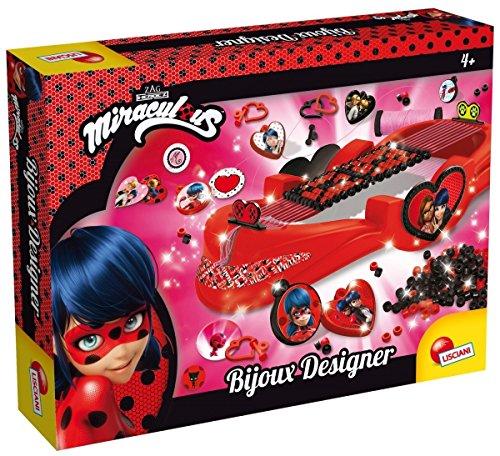 Unbekannt Lisciani Giochi Ladybug Miraculous Bijoux Designer, 66100.0