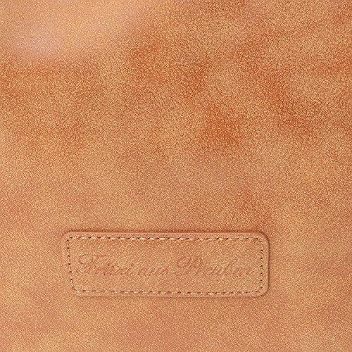 Fritzi Aus Preußen Kiana Vintage Bolsa A Mano 40 Cm Terra