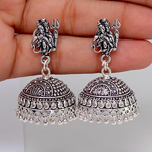 54 Off On Jaipur Mart Splendid Design Lord Shiva Silver Oxidised