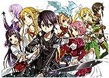 Pixiluv 2019 Sao Sword Art Online Anime Manga A719 - Calendario de Anime (13 páginas, 20,32 x 27,94 cm)