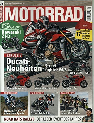 """Motorrad 23/2019 """"Ducati-Neuheiten"""""""