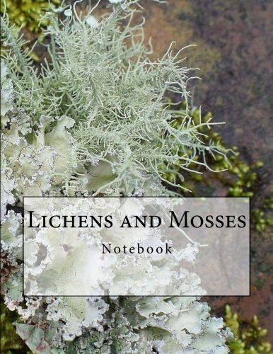 Lichens and Mosses Notebook: Notebook with 150 Lined Pages por Wild Pages Press