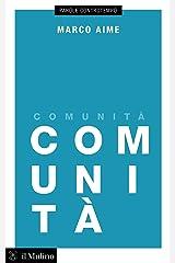 Comunità (Parole controtempo) Formato Kindle