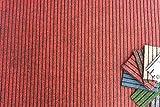 Riga' - moquette su misura - Rosso 06 - Larghezza 100cm - Lunghezza al metro
