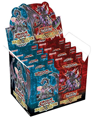 Yugioh! - Machina Reactor & Dinosmasher`s Fury - Structure Deck - Deutsch (1 Display) - Deck Machina Yugioh Structure