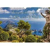 Sehnsuchtsinseln Capri und Ischia (Wandkalender 2017 DIN A4 quer): Träume vom azurblauen Meer begleiten Sie durch das Jahr (Monatskalender, 14 Seiten ) (CALVENDO Orte)