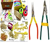 #2: Silk thread jewelery-making fully loaded box with all accessories & cutter-plier tools!!