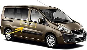 Adatto a Peugeot Partner Tepee 2008-2015 Maniglia di copertura cromata 4 porte acciaio inox