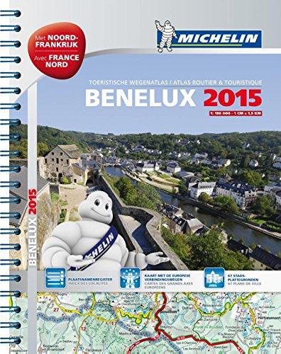 BENELUX 22452 SPIR. ATLAS MICHELIN 2015 par (Carte - Nov 27, 2014)