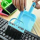 #4: Shree Multipurpose Plastic Mini Dustpan, Mini Dustpan Set For Cleaning Laptops, Keyboards, Dining Table, Car's Seats, Carpets Etc.
