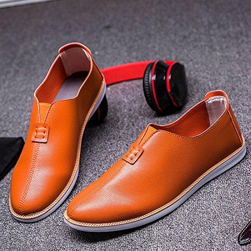 Gaorui , Herren Bootsschuhe Arancione
