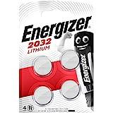 Energizer CR2032 Lot de 4 Piles au Lithium