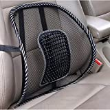 Brand New 2 x Lumbar Lower Back Support Mesh Cushion Highest Quality Pain Relief Posture Massage Car Seat