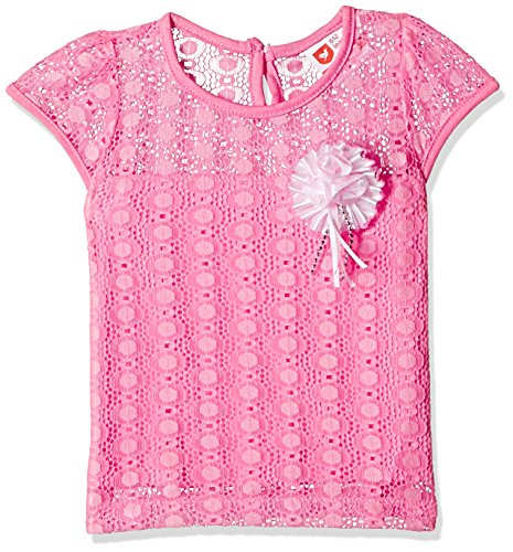 612 League Baby Girls' T-Shirt (ILS17I78004-18 - 24 Months-PINK)