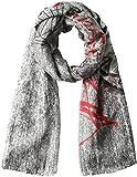 Desigual Foulard Rectangle Adhara Gris VigoreDati:o Materiale: 100% (lavaggio a mano a 30 ° C) Poliestereo Dimensioni: Larghezza 200 cm, altezza 110 cmo Colore: Gris Vigore (grigio)o Fabbricante: Desigual